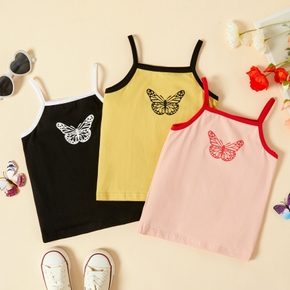 Toddler Girl Butterfly Print Camisole
