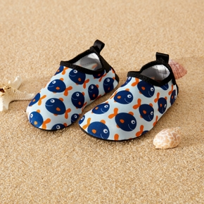 Baby Fish Print Water Beach Athleisure Shoes for Toddlers / Kids