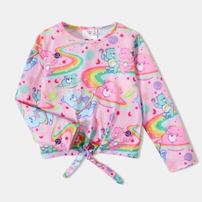 Care Bears Toddler Girl Rainbow Bowknot Top