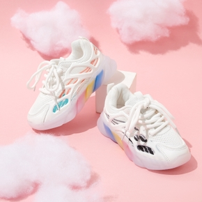 Kid Rainbow Breathable Sports Shoes