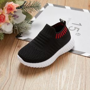 Toddler / Kid Breathable Knitted Solid Sneakers