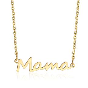 Mother's Day Letter Pendant Mama Necklace Accessories Fashion Jewelry