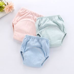 Pure Cotton Baby Learning Pants Baby Cloth Diapers Reusable Washable Nappies Baby Diaper Learning Training Pants