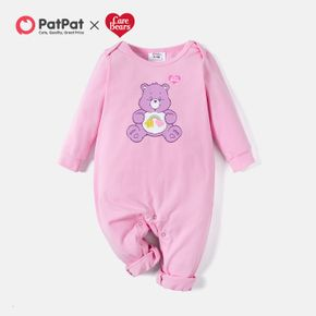 Care Bears Sharing Love Baby One Piece Cotton Bodysuits