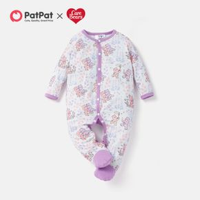 Care Bears Baby Long-sleeve Floral Romper