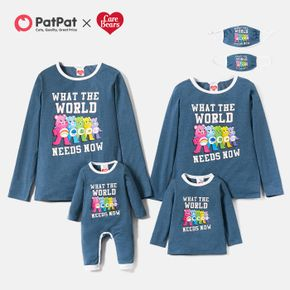 Care Bears Letter Cotton Family Matching Tees Romper