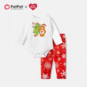 Care Bears 2-piece Merry Christmas Baby Jumpsuit and Pants Set