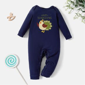 Baby Graphic Long-sleeve Jumpsuit