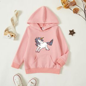 Toddler Graphic Long-sleeve Hooded Pullover