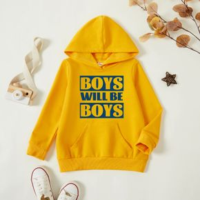 Toddler Graphic Ginger Long-sleeve Hooded Pullover