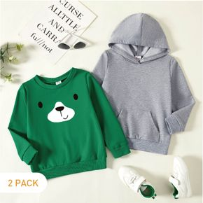 2-Pack Toddler Graphic Long-sleeve Pullover