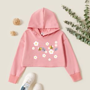 Kids Graphic Long-sleeve Hooded Pullover