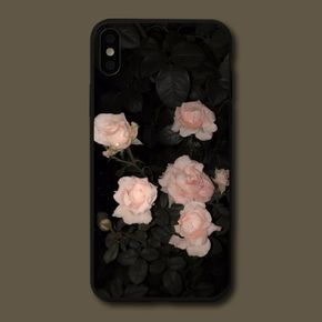 Pink Rose iPhone Case Soft TPU Protective Case for iPhone 7/7 Plus/11/11 Pro/11 Pro Max/12/12 Pro/12 Pro Max/12 Mini/X/XS Max/XR