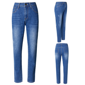 Casual Blue Skinny Jeans