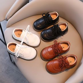 Toddler Solid Color Elastic Shoelaces Shoes
