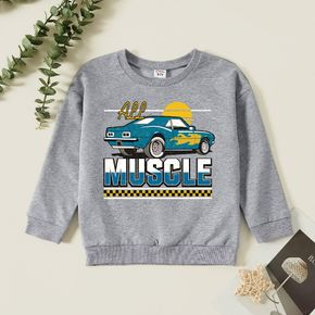 Kids Graphic Light gray Long-sleeve Pullover