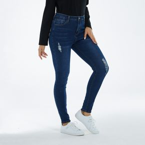 Fly Ripped Blue Jeans