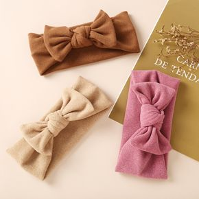 Solid Bowknot Headband for Girl