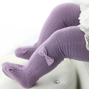 Baby / Toddler Comfy Bow Decor Tights