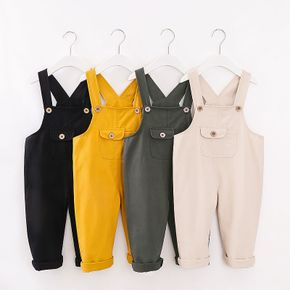 Baby / Toddler Stylish Solid Overalls