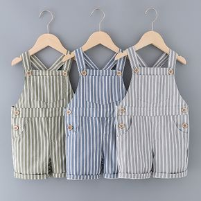 Toddler Chic Striped Overalls
