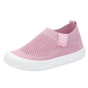 Toddler / Kids Breathable Net Surface Solid Casual Shoes