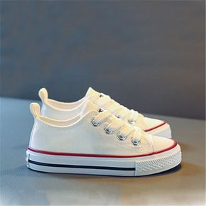 Toddler / Kid Solid Soft Sole Canvas Shoes