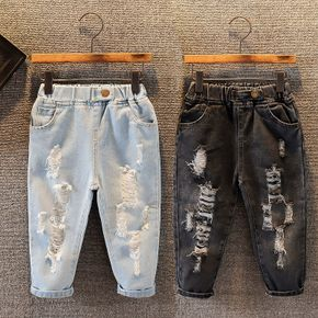 Baby / Toddler Fashion Ripped Jeans