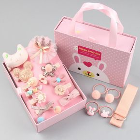 Bow Knot Decor Hair Accessory Sets for Girls