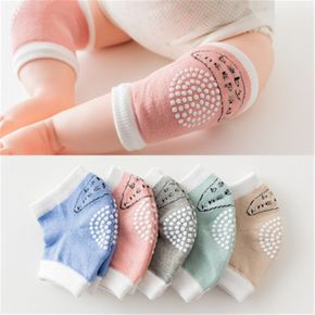 3-pairs Comfy Antiskid Knee Pad Summer Children's Cotton Baby Crawling Knee Pads
