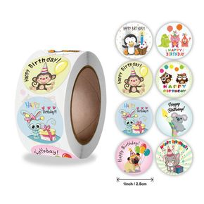 Roll Over Image to Zoom in Happy Birthday Badge Stickers for Kids Home Classroom Birthday Party Decoration