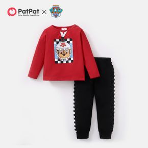 PAW Patrol 2-piece Toddler Boy Space Chase Cotton Top and Solid Pants Set