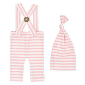 Newborn  Baby Photography Outfits Stripe  Hat Pant Set