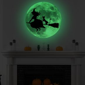 Halloween Glow Wall Stickers for Halloween Wall Decoration, Removable Luminous Wall Stickers