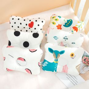 Cotton Cartoon Stereotyped Baby Pillow Anti-eccentric Head Newborn Baby Pillow Four Seasons Universal Children Stereotyped Pillow