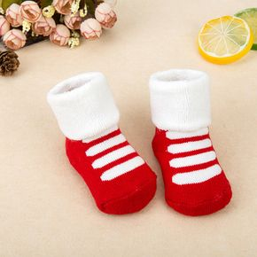 Baby / Toddler Colorblock Winter Warm Thick Socks