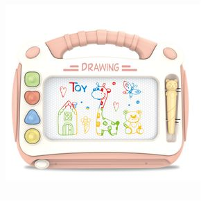 Magnetic Drawing Board Kids Erasable Doodle Board Writing Painting Sketch Pad Educational Learning Toy