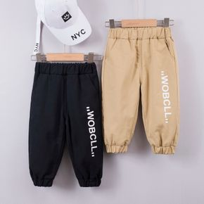 1pc Baby Girl Cotton casual Letter Harem pants Casual Pants & Sweatpants & Harem Pants