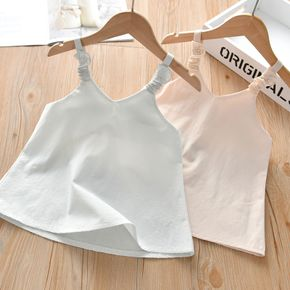 Baby / Toddler Girl Solid Comfy Loose Camisole
