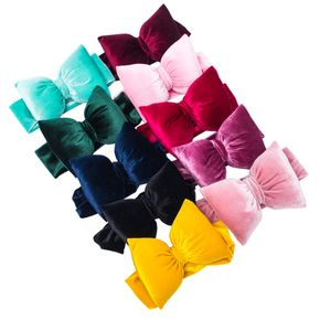 Solid Color Cushion Bowknot Headbands for Girls
