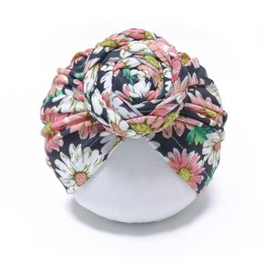 Baby / Toddler Daisy Dots Print Indian Hat