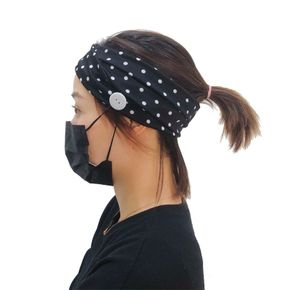 Solid Headband With Fastener