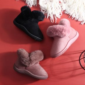 Baby / Toddler / Kid Solid Fleece-lining Boots