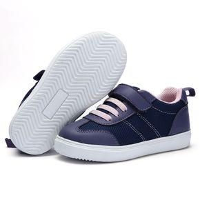 Toddler / Kid Color Block Velcro Closure Sports Shoes