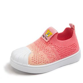 Baby / Toddler Breathable Slip-on Canvas Shoes