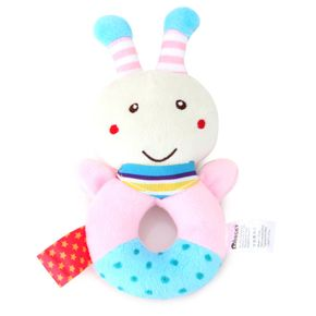 Baby Rattle Cartoon Adorable Animal Rattle Stick Baby Soothing Toy Baby Rattle Toy