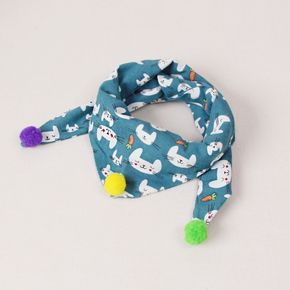 100% Cotton Cartoon Baby Bandana Drool Bibs for Boys Girls Baby for Teething and Drooling Multi-purpose Scarf Bibs
