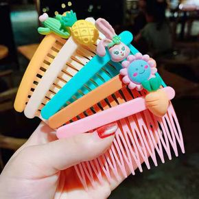 5-pack Cute Candy Color Cartoon Decor Hair Clip for Girls
