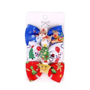 3-pack Christmas Hair Clip for Christmas Party Supplies