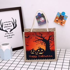 Halloween Trick or Treat Bags Halloween Goodie Candy Bags Reusable Gift Bags